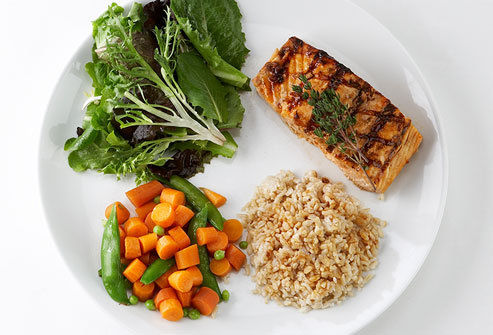 Healthy Dinner Plate Portions : vegetable plate dinner - pezcame.com