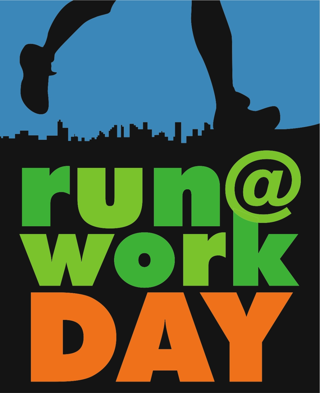 Run at work logo