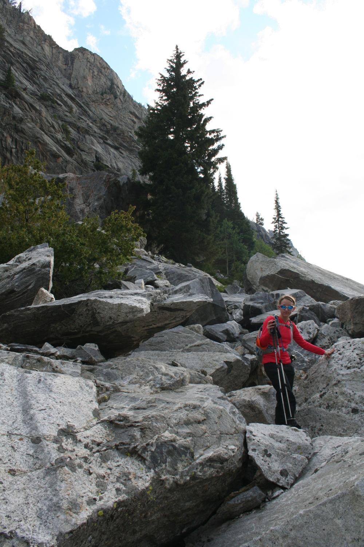 Avalanche Canyon Lisa Verwys