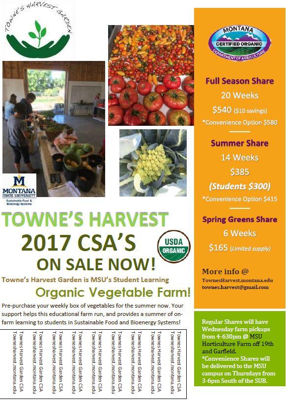 townes harvest