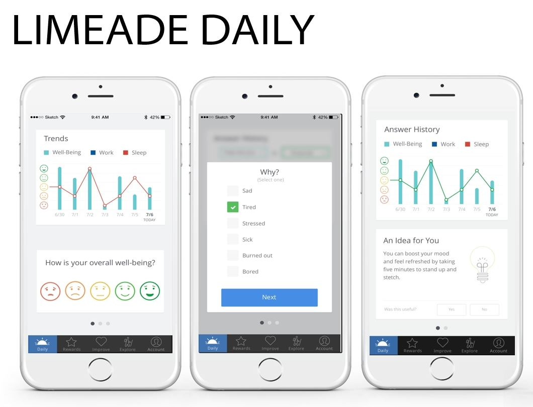 limeade daily screenshot