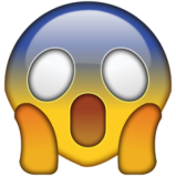 scream emoji